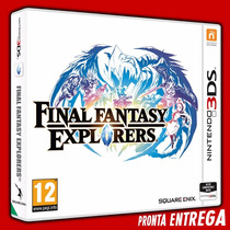 Final Fantasy Explorers Nintendo 3ds - Original Lacrado