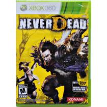 Never Dead Original Xbox 360 Ntsc Americano L A C R A D O.