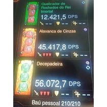 Itens Diablo 3 P/ Ps3 - Pac 50 Itens Armas/sets