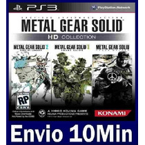 Metal Gear Solid Hd Collection Digital Ps3 Psn