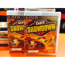 Jogo Dirt Showdown Playstation 3, Mídia Física, Lacrado