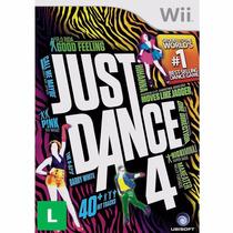 Just Dance 4 - Wii - Lacrado