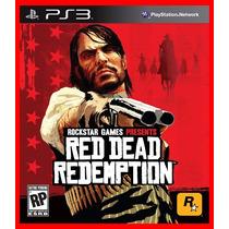 Red Dead Redemption Ps3 Psn Promocao Poucas Unidades