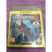 Uncharted 2 Among Thieves Ps3 Em Português Impecável