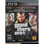 Jogo Grand Theft Auto Iv Liberty City (gta 4) Ps3