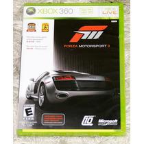 Jogo Xbox 360 Forza Motorsport3