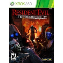 Jogo Xbox 360 Resident Evil Operation Raccoon City