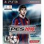 Pes 10 Pro Evolution Soccer 2010 - Jogo Ps3 - Em Disco