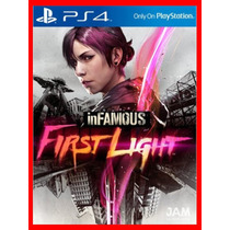 Infamous First Light Dublado Ps4 Psn Primario - Promocao