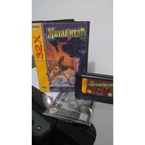 Metal Head / Completo Original - Sega 32x