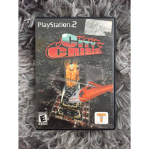 Novo Jogo City Crisis Original Ps2 Caixa Manual 100%