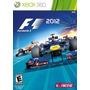 F1 2012 Original Xbox360 Frete 10r$br