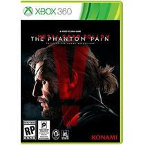 Metal Gear Solid V: The Phantom Pain - Xbox 360 Lacrado Pt