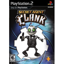 Jogo Secret Agent Clank Original Para Playstation 2 A6847