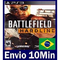 Battlefield Hardline Ps3 Mídia Digital Código Psn Dublado