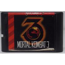 Mortal Kombat 3 Jogo Mega Drive Usado