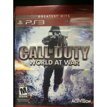 Call Of Duty World At War Para Ps3 Novo Lacrado