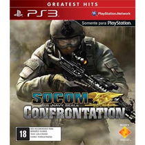 Playstation 3 - Socom Confrontation Greatest Hits