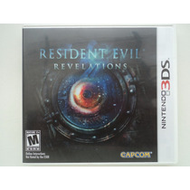 Resident Evil Revelations 3ds - Americano Impecável !!!