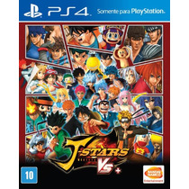 J-stars Victory Vs+ Jstars Playstation 4 - Midia Física
