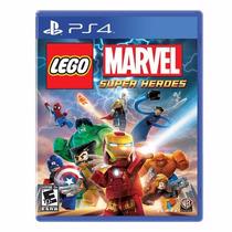 Lego Marvel Super Heroes Jogo Ps4 Original Lacrado