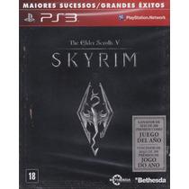 The Elder Scrolls V Skyrim (inglês/espanhol) - [ps3] Lacrado