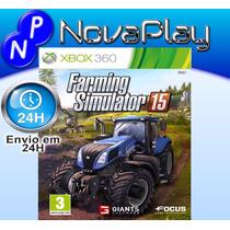 Farming Simulator 2015 -x360-mídia Física-português-f.grátis