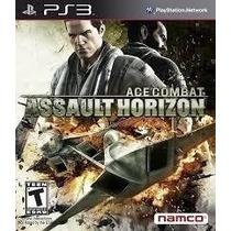 Ace Combat Assault Horizon Ps3 Código Psn Envio Hoje