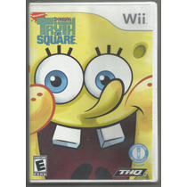 Spongebobs: Truth Or Square - Wii Pronta Entrega. Original.