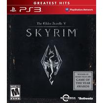 The Elder Scroll V Skyrim Ps3 Novo/lacrado A Pronta Entrega