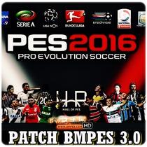 Patch Bmpes Pes 2016 Pc Brasil + Mundo Hd Atualizado!