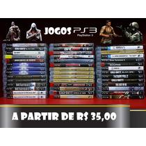Jogos Ps3 Playstation 3 Play 3 Novos/seminovos Mídia Física