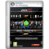Pes 2011 + (patch Bmpes Pes 2011 Pc Brasil + Mundo Hd 4.0)