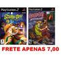 Scooby Doo - Kit 2 Games Path Para Ps2 Playstation 2