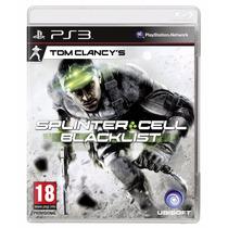 Tom Clancys Splinter Cell Blacklist Ps3 - Lacrado