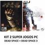Dead Space 1 + Dead Space 3 - Pc Dvd - Original E Lacrado