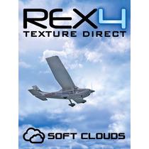 [fsx/p3d] Rex 4 Texture Direct With Soft Clouds