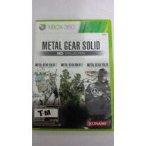Metal Gear Solid Hd Collection Xbox 360 Nstc