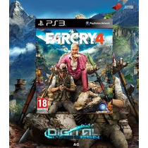 Far Cry 4 Português - Jogos Ps3 - Mídia Digital Psn