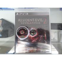 Resident Evil Revelations 2 Ps3 Novo Lacrado