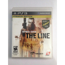 Jogo Spec Ops The Line Para Ps3 /semi Novo/ Barato!!!!