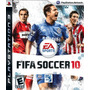 Fifa Soccer 2010 Ps3 Mídia Física Novo Original