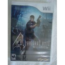 @ Resident Evil 4 - Nintendo Wii -novo Lacrado @