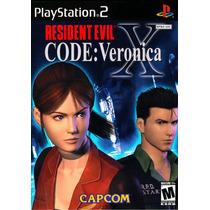 Patch Resident Evil Code Veronica X Ps2 Frete Gratis