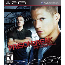 Jogo Novo Prison Break The Conspiracy Para Playstation3