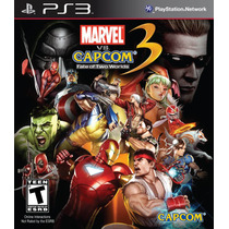 Marvel Vs Capcom 3 Playstation 3 Ps3 Bluray Frete R$8.00