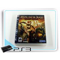 Ps3 Golden Axe Beast Rider Original Playstation 3