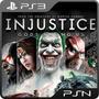 Injustice Gods Among Us Ps3 - Mídia Digital