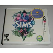 The Sims 3 Ação Aventura Diversão Jogo 3ds Original