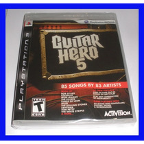 Guitar Hero 5 Ps3 Playstation 3 Original Lacrado Rock Band